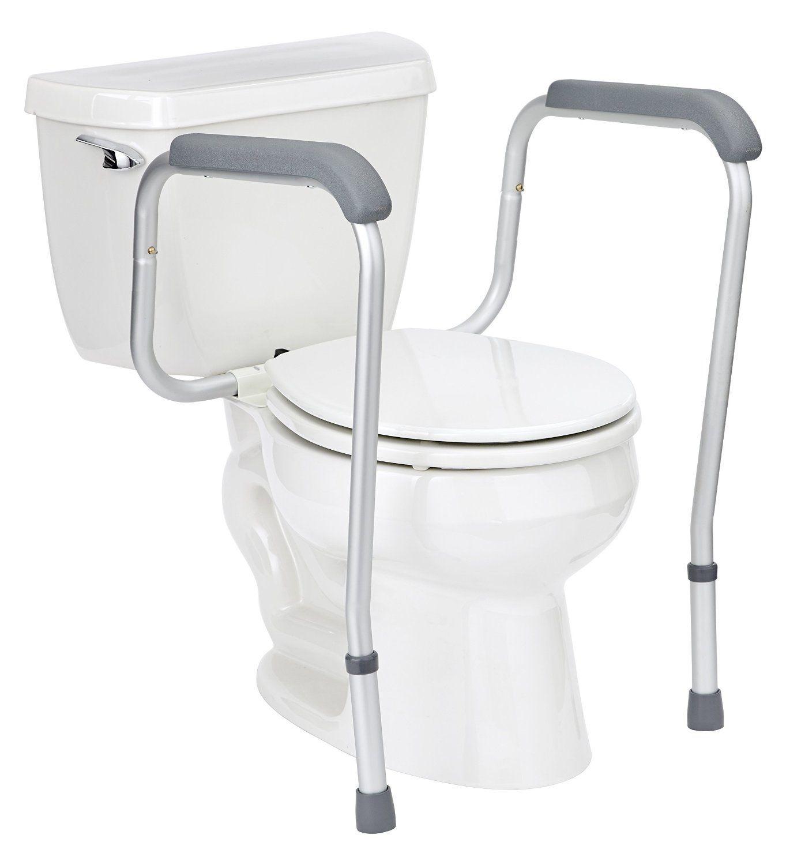 toilet grab bars bathroom safety